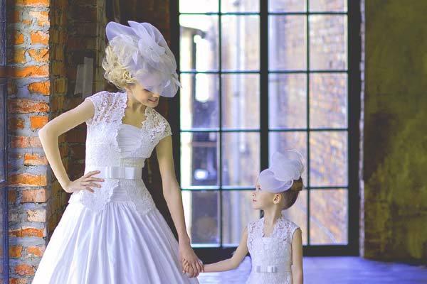 Шляпка невесты на ободке мастер класс сделай сам #11